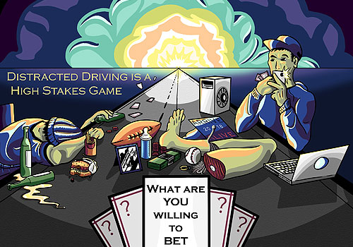 Types-Of-Distracted-Driving-Daniel-Dickey - Arrive Alive