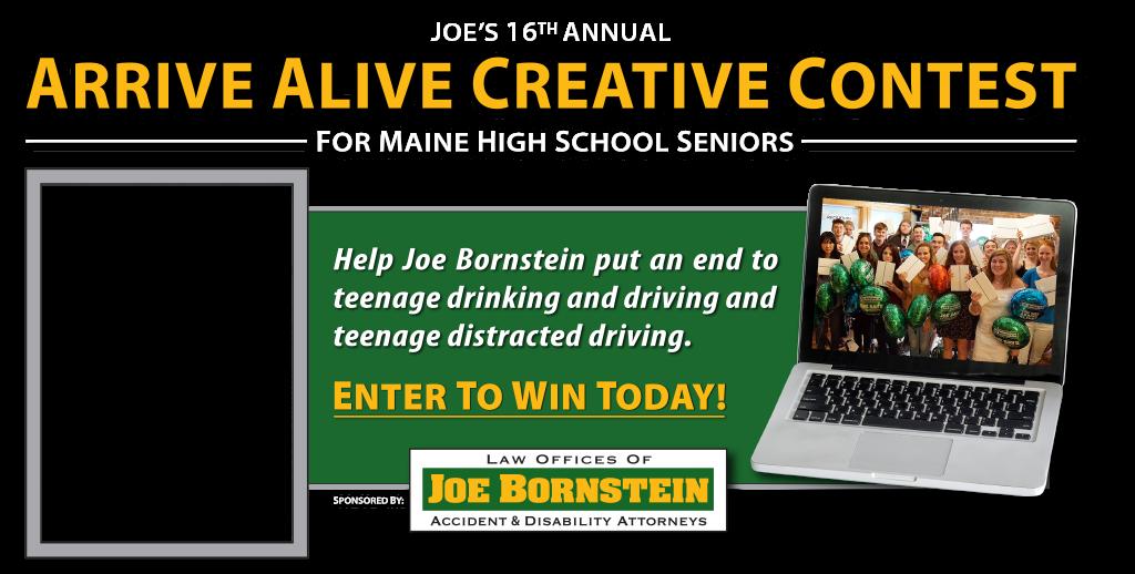 Home - Arrive Alive Creative Contest